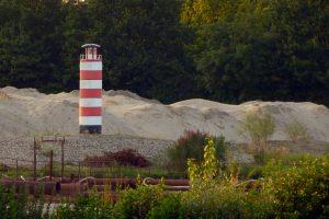 Mini-Leuchtturm am Lippesee