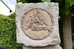 Das Drei-Hasen-Logo in der Mallinckrodtstraße.